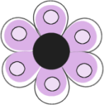 purple-dotted-flower-transparent