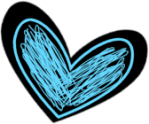 black-blue-scribbled-heart